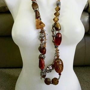 Treska chunky statement necklace new